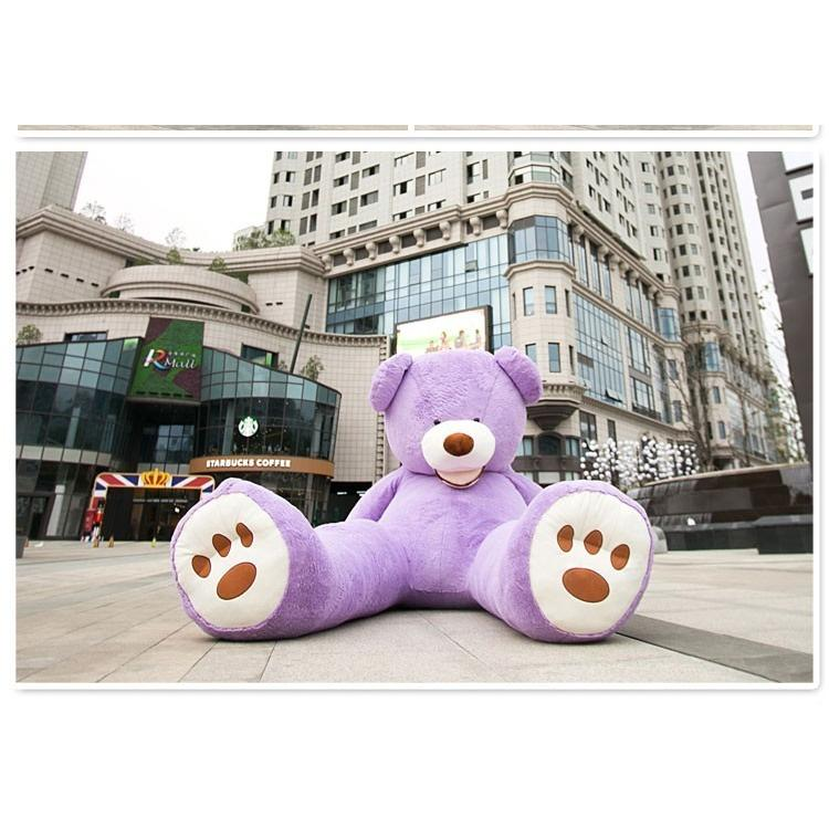 ぬいぐるみ 特大 くま/テディベア 7色5サイズ 可愛い熊 動物 大きいクマ ぬいぐるみ130cm/160cm/200cm/250cm/340cm|lovesound|03