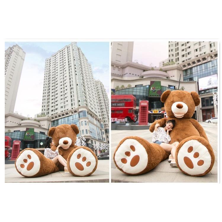 ぬいぐるみ 特大 くま/テディベア 7色5サイズ 可愛い熊 動物 大きいクマ ぬいぐるみ130cm/160cm/200cm/250cm/340cm|lovesound|04