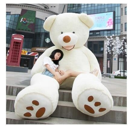 ぬいぐるみ 特大 くま/テディベア 7色5サイズ 可愛い熊 動物 大きいクマ ぬいぐるみ130cm/160cm/200cm/250cm/340cm|lovesound|06