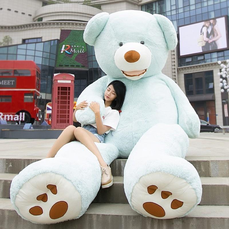 ぬいぐるみ 特大 くま/テディベア 7色5サイズ 可愛い熊 動物 大きいクマ ぬいぐるみ130cm/160cm/200cm/250cm/340cm|lovesound|08