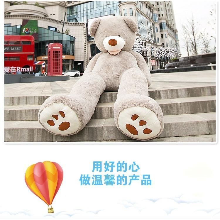 ぬいぐるみ 特大 くま/テディベア 7色5サイズ 可愛い熊 動物 大きいクマ ぬいぐるみ130cm/160cm/200cm/250cm/340cm|lovesound|09