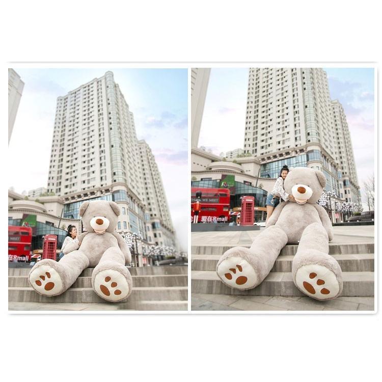 ぬいぐるみ 特大 くま/テディベア 7色5サイズ 可愛い熊 動物 大きいクマ ぬいぐるみ130cm/160cm/200cm/250cm/340cm|lovesound|10