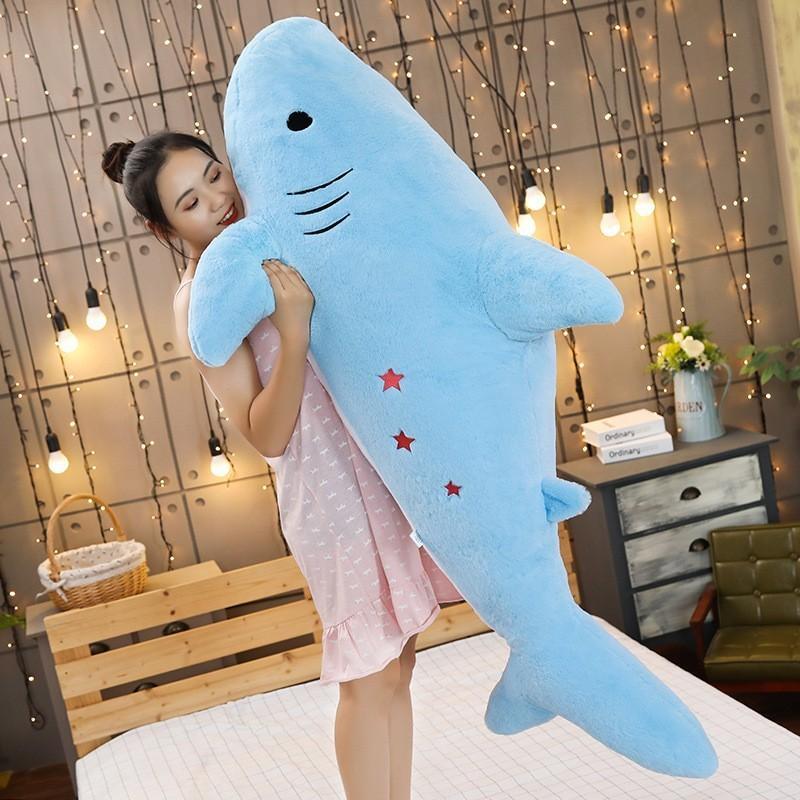 ぬいぐるみ さめ サメ 抱き枕 クッション インテリア 男 女 誕生日プレゼント150cm