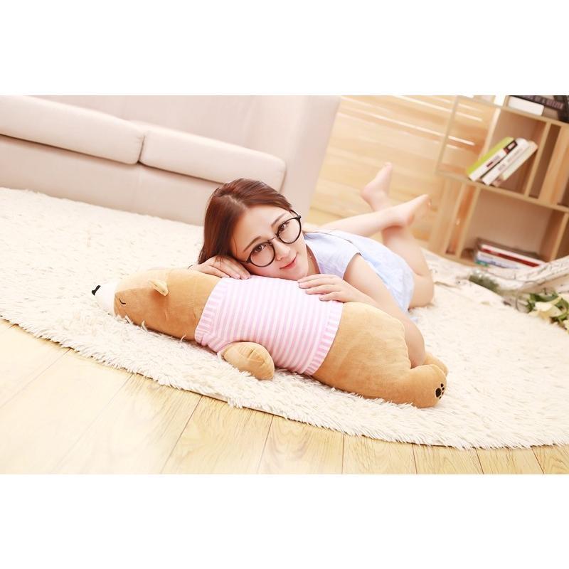 可愛いブタ ホッキョクグマ パンダ クッション 抱き枕 オフィス用 100cmぬいぐるみ ふわふわ おもちゃ 誕生日 彼女 プレゼント クリスマス 贈り物
