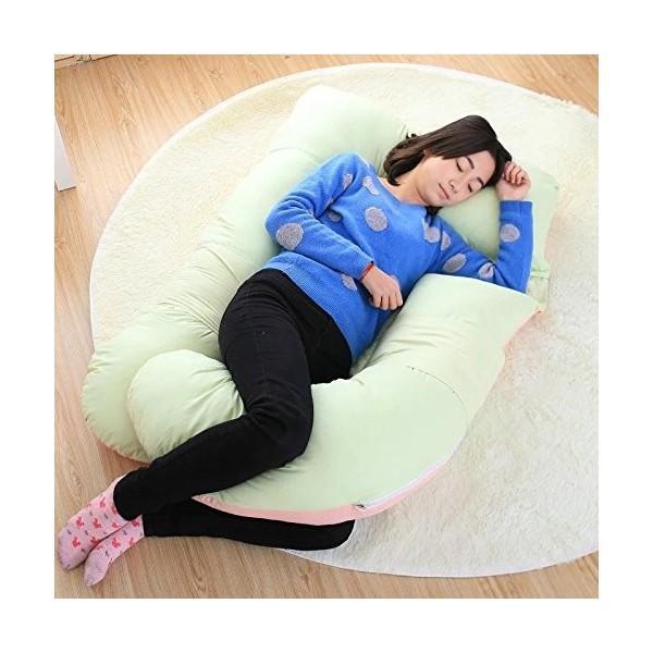 U型 多機能 抱き枕 マタニティー 新デザイン 新設計 3Dで身体に優しい妊婦に最適