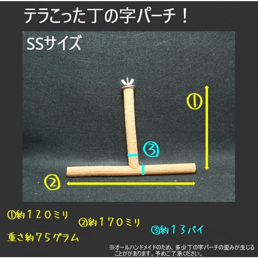 丁の字パーチ!SSサイズ / 爪研ぎパーチ インコ オウム 鳥|lovewing-pro