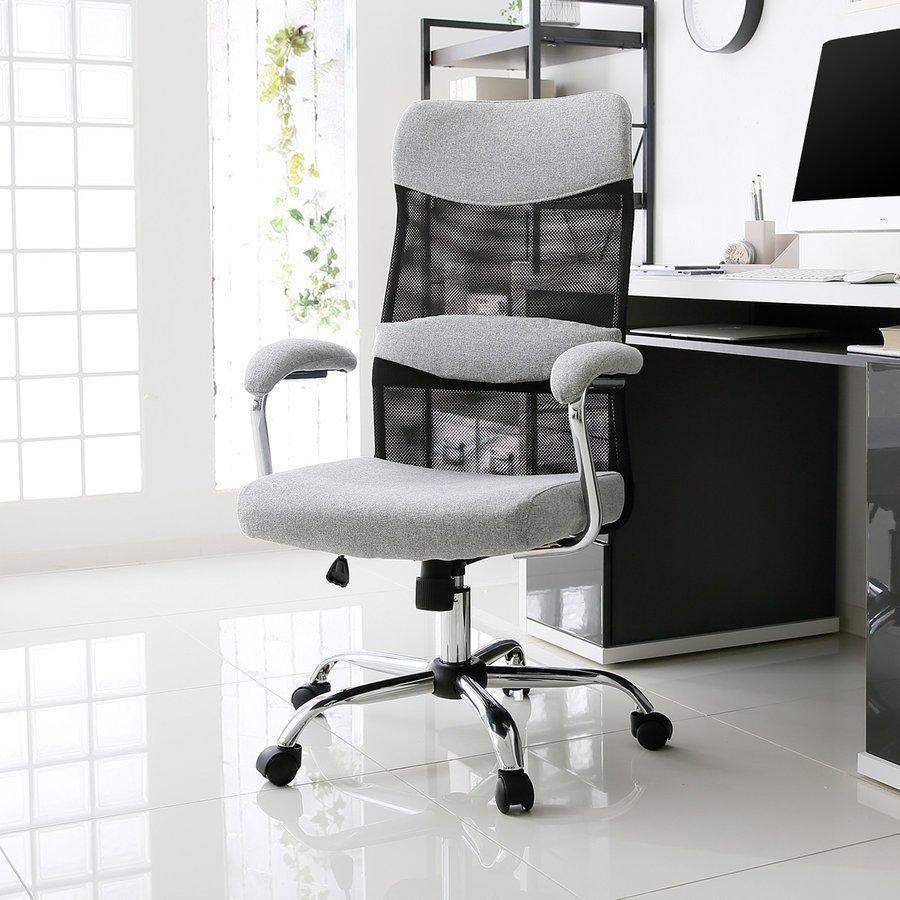 セール価格 オフィスチェア 肘付 可動式 メッシュ おしゃれ 高さ調整 ハイバック パソコン チェアー デザイン いす PC 椅子 OA リモート デスク用 ロウヤ 正規逆輸入品 イス LOWYA
