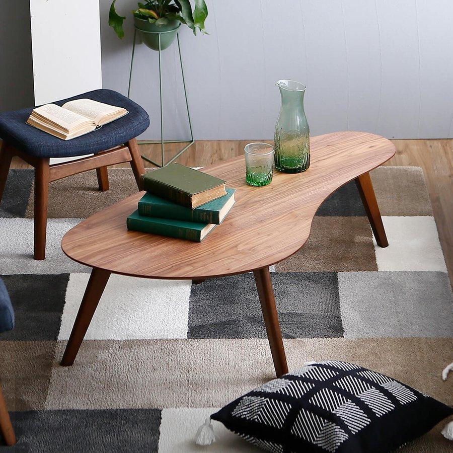 テーブル センターテーブル ローテーブル 木製 おしゃれ 安値 リビングテーブル 格安 ロウヤ 120 LOWYA