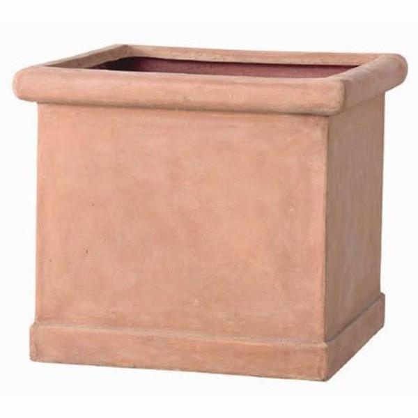 軽量植木鉢/プランター 〔テラコッタ 幅65cm〕 穴有 穴有 穴有 ファイバー製 『CLタブポット』 d02