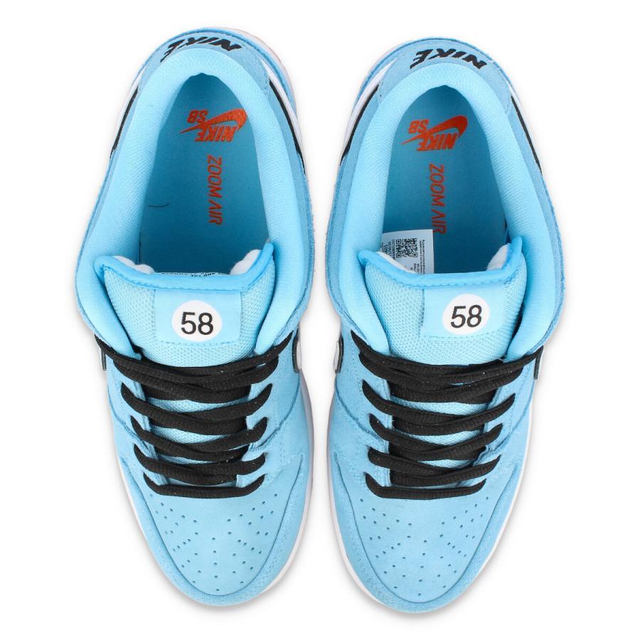 NIKE SB ZOOM DUNK LOW PRO 【GULF RACING】 ナイキ SB ズーム ダンク ロー プロ BLUE CHILL/WHITE/SAFETY ORANGE/BLACK bq6817-401 lowtex-plus 02