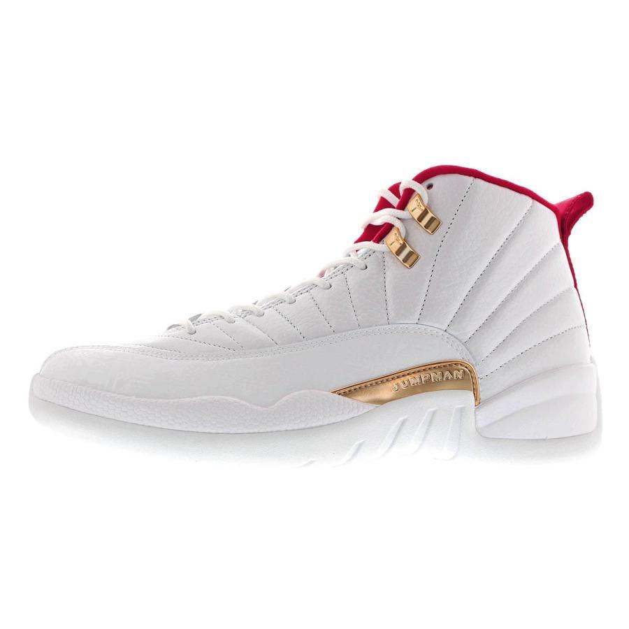 "850000 107 TD Air Jordan Retro 12 /""FIBA/"" White//University Red"