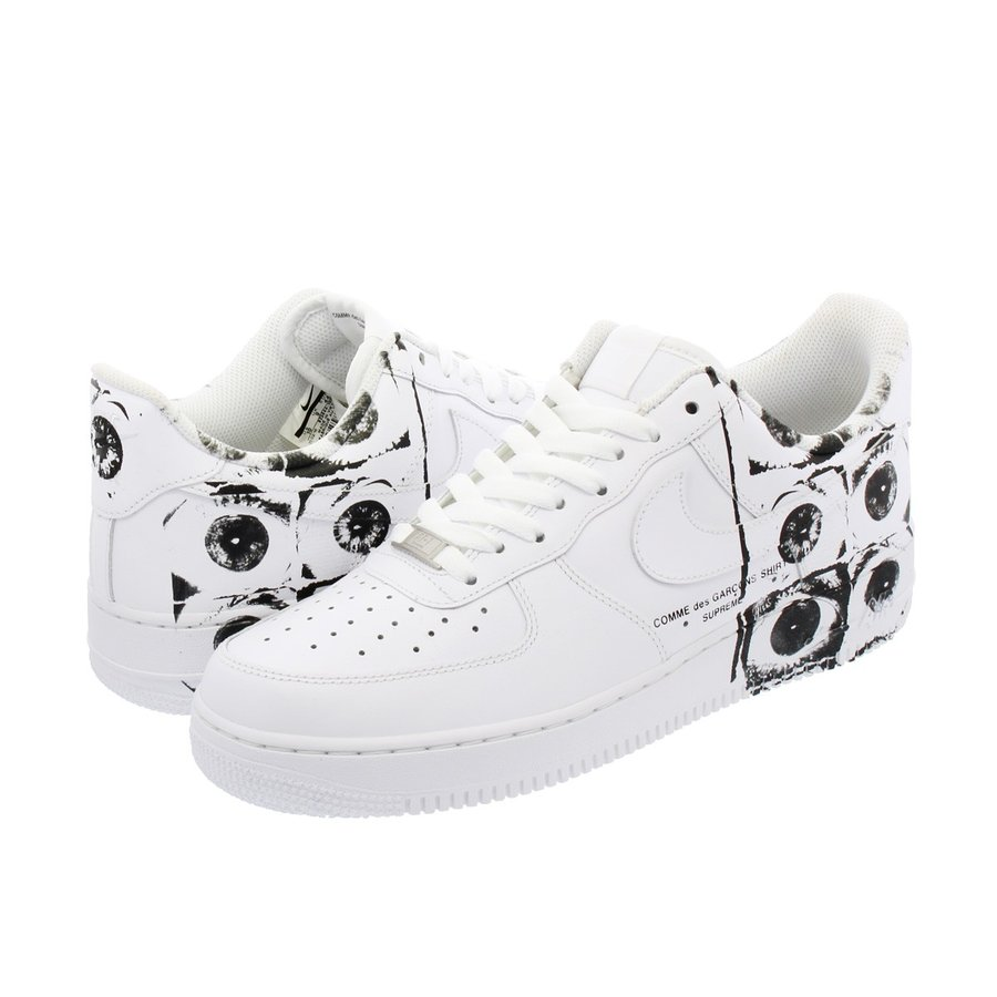 f1e5f3e3242 NIKE × SUPREME × COMME des GARCONS SHIRT AIR FORCE 1 LOW ナイキ ...