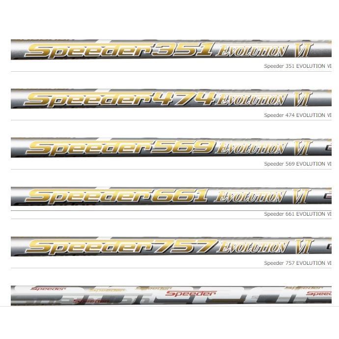 テーラーメイド スリーブ付シャフト フジクラ Speeder EVOLUTION6 エボ6 スピーダーエボリューション6 SIM M1 M2 M3 M4 M5 M6 カスタムシャフト ドライバー用 lpcgolfonline 04