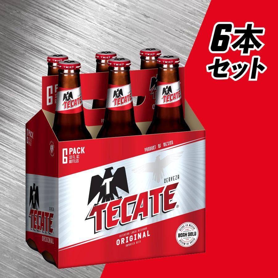 メキシコ テカテビール 6本セット 瓶355ml |lr-t