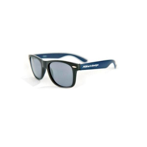 送料無料 POS art design サングラス Grayson(グレイソン) GS-3D マットブラック/マットダークブルー 他商品との同梱不可