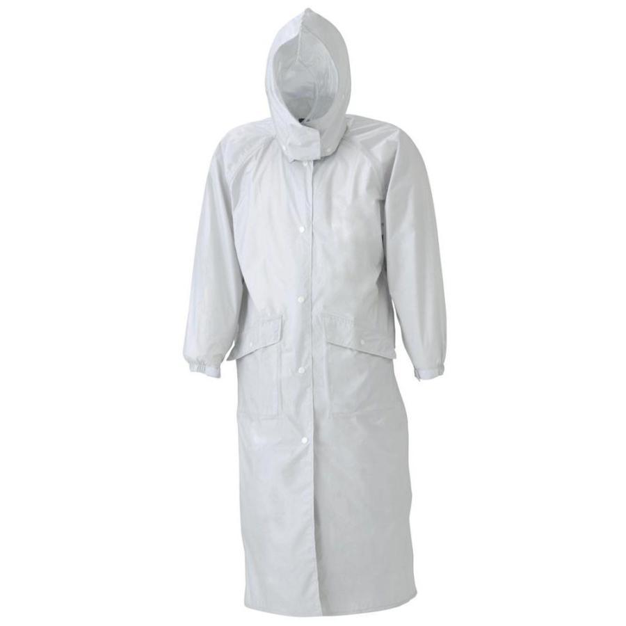 送料無料 スミクラ 透湿 ストリートコート E-675シルバー MR 他商品との同梱不可