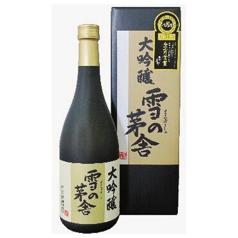 秋田県 雪の茅舎 大吟醸 720ml 化粧箱入