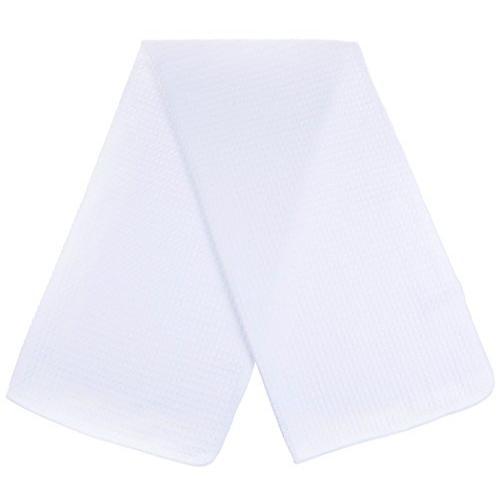 SINLAND 吸水 マイクロファイバー 食器 拭き ワッフルタオル ふきん ディッシュクロス(ホワイト 3枚)|lsj-store|02