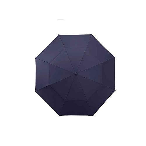 ZLDAN Double Oversized Golf Umbrella Long-Handled Straight Umbrella Windproof Umbrella Men's Wind Storm (Color : Blue)【並行輸入品】