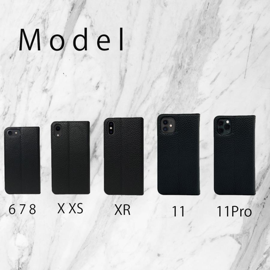 iPhone12 Pro ケース iPhone 11 pro XR X Xs 8 7 6s 6 SE 第二世代 ケース カバー 本革 手帳型ケース バイカラー 革 おしゃれ 手帳型 耐衝撃 ltcm-store 05