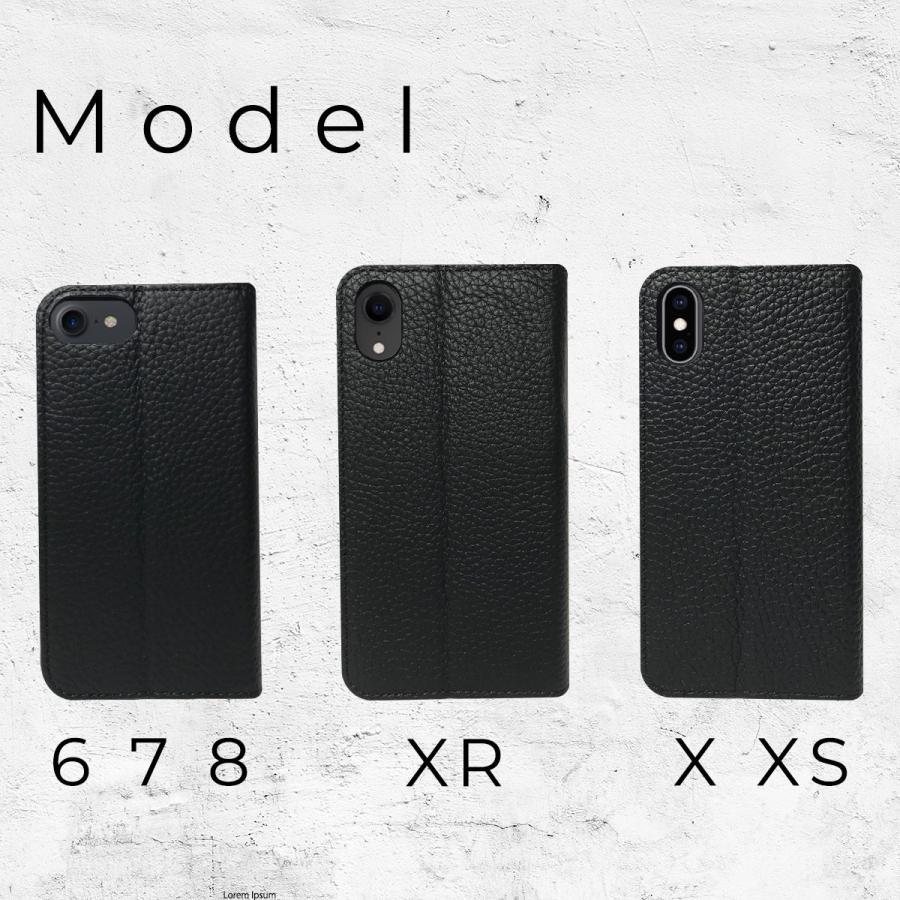 iPhone12 Pro ケース iPhone 11 pro XR X Xs 8 7 6s 6 SE 第二世代 ケース カバー 本革 手帳型ケース バイカラー 革 おしゃれ 手帳型 耐衝撃 ltcm-store 06