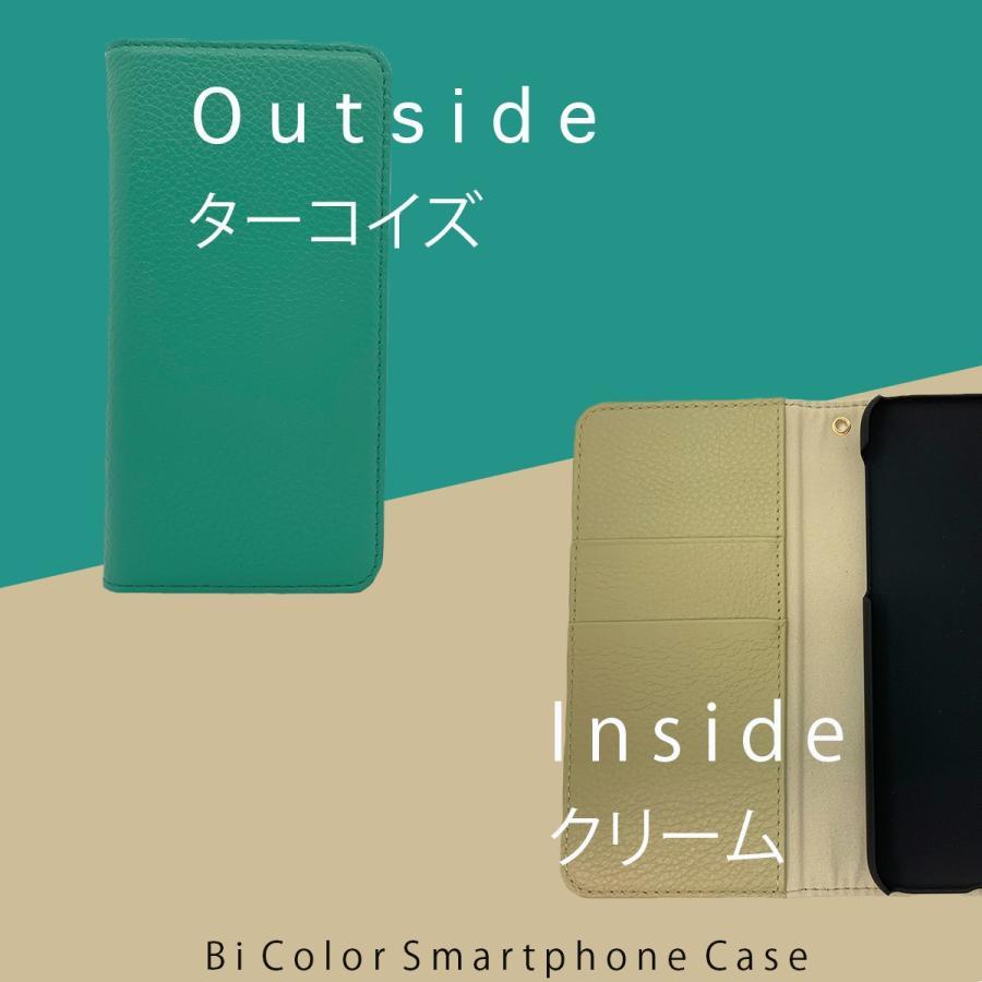 iPhone12 Pro ケース iPhone 11 pro XR X Xs 8 7 6s 6 SE 第二世代 ケース カバー 本革 手帳型ケース バイカラー 革 おしゃれ 手帳型 耐衝撃 ltcm-store 08