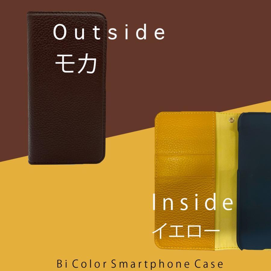 iPhone12 Pro ケース iPhone 11 pro XR X Xs 8 7 6s 6 SE 第二世代 ケース カバー 本革 手帳型ケース バイカラー 革 おしゃれ 手帳型 耐衝撃 ltcm-store 09