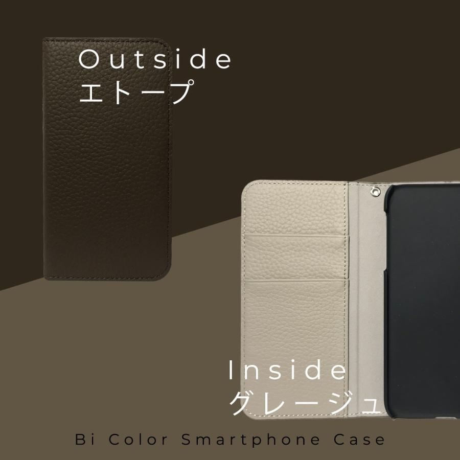 iPhone12 Pro ケース iPhone 11 pro XR X Xs 8 7 6s 6 SE 第二世代 ケース カバー 本革 手帳型ケース バイカラー 革 おしゃれ 手帳型 耐衝撃 ltcm-store 10