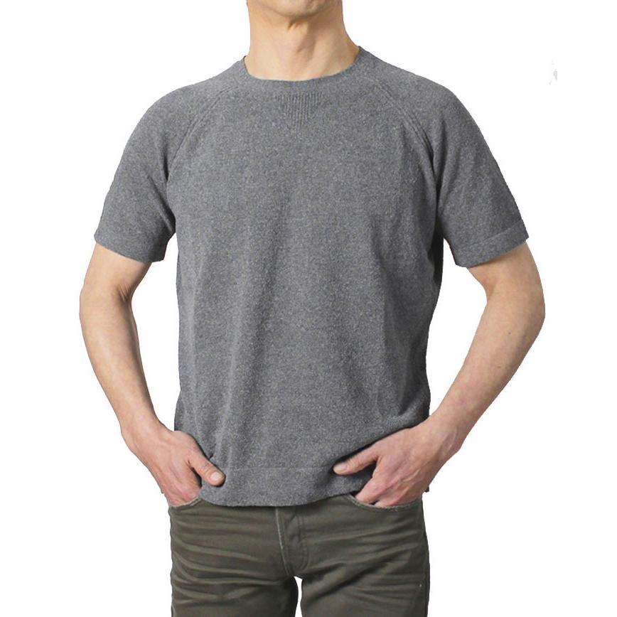 ザノーネ / ZANONE / クルーネック ニット Tシャツ / 12G コットン パイル / 812484-ZM308 / 返品・交換可能 luccicare 12
