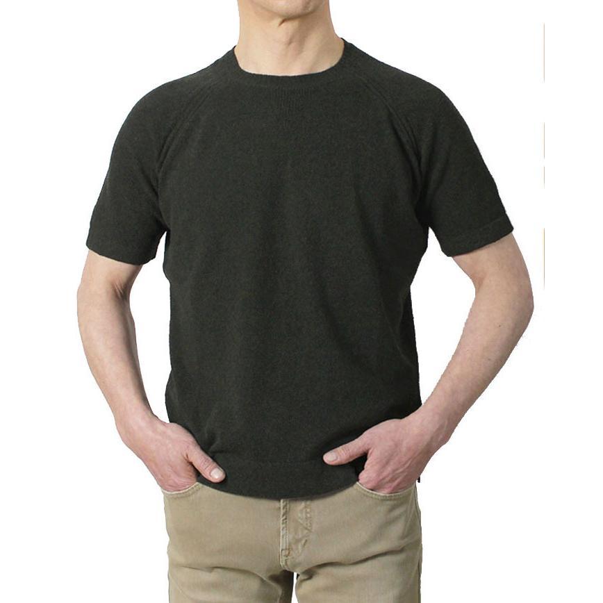 ザノーネ / ZANONE / クルーネック ニット Tシャツ / 12G コットン パイル / 812484-ZM308 / 返品・交換可能 luccicare 14