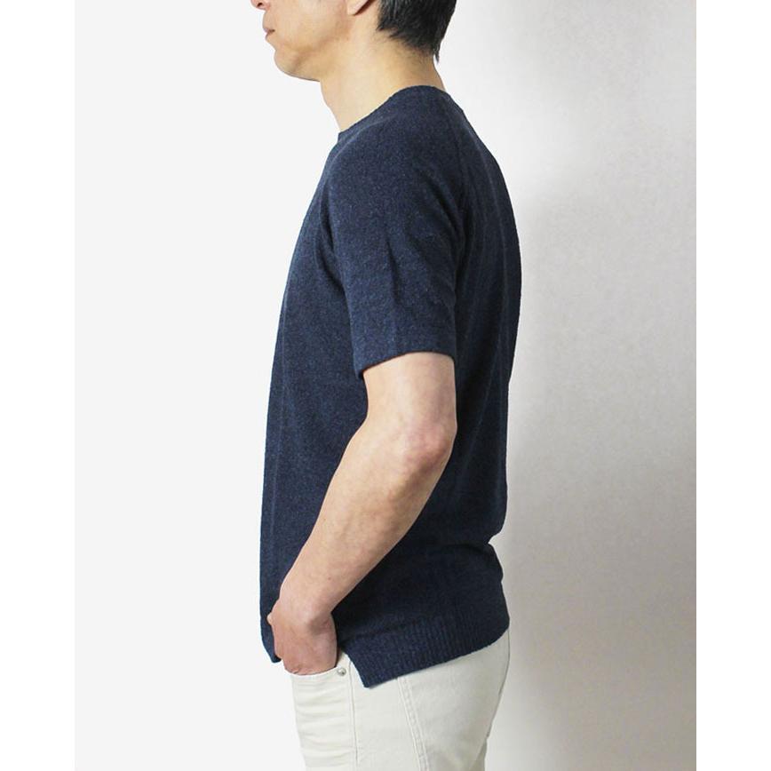 ザノーネ / ZANONE / クルーネック ニット Tシャツ / 12G コットン パイル / 812484-ZM308 / 返品・交換可能 luccicare 05