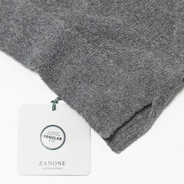 ザノーネ / ZANONE / クルーネック ニット Tシャツ / 12G コットン パイル / 812484-ZM308 / 返品・交換可能 luccicare 09