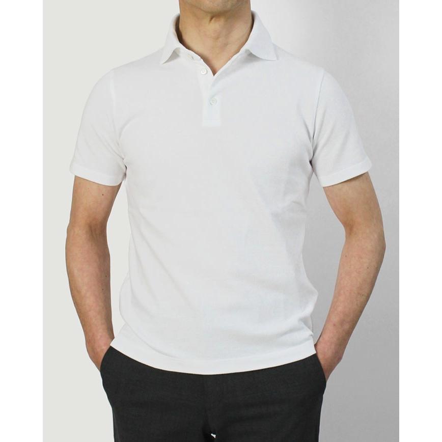 クルチアーニ / Cruciani / ポロシャツ / コットン 鹿の子 半袖 / JU1371 / 返品・交換可能 luccicare 02