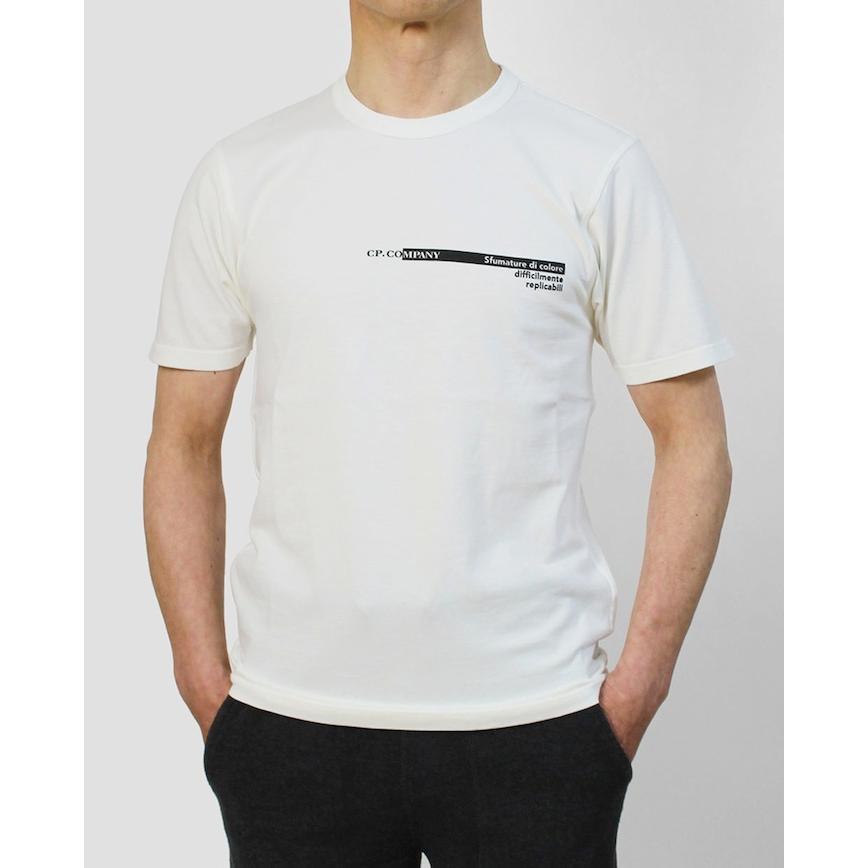 シーピーカンパニー / C.P.COMPANY / クルーネック ロゴ Tシャツ / コットン / 10CMTS294A / 返品・交換可能|luccicare|02