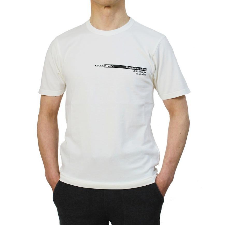 シーピーカンパニー / C.P.COMPANY / クルーネック ロゴ Tシャツ / コットン / 10CMTS294A / 返品・交換可能|luccicare|13