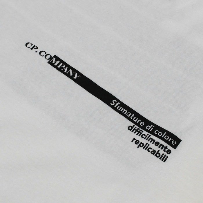 シーピーカンパニー / C.P.COMPANY / クルーネック ロゴ Tシャツ / コットン / 10CMTS294A / 返品・交換可能|luccicare|08