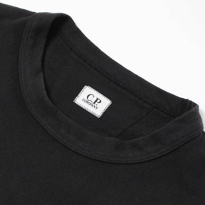 シーピーカンパニー / C.P.COMPANY / クルーネック ロングスリーブ Tシャツ / コットン スウェット / 10CMSS228A / 返品・交換可能|luccicare|06