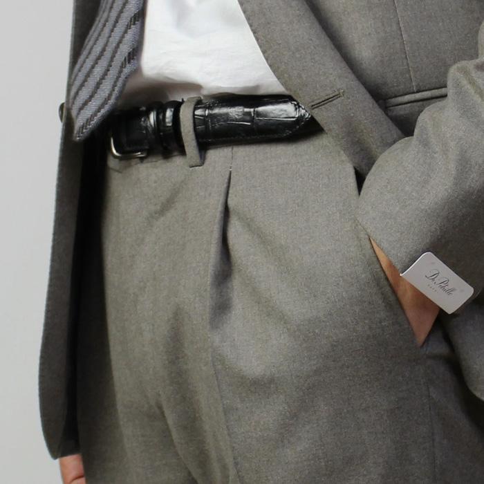 デ ペトリロ / De Petrillo / ワンプリーツ スーツ / ウール セミフラノ 3B 段返り / LINEA NAPOLI / NAPOLI / ABITO / 返品・交換可能|luccicare|21