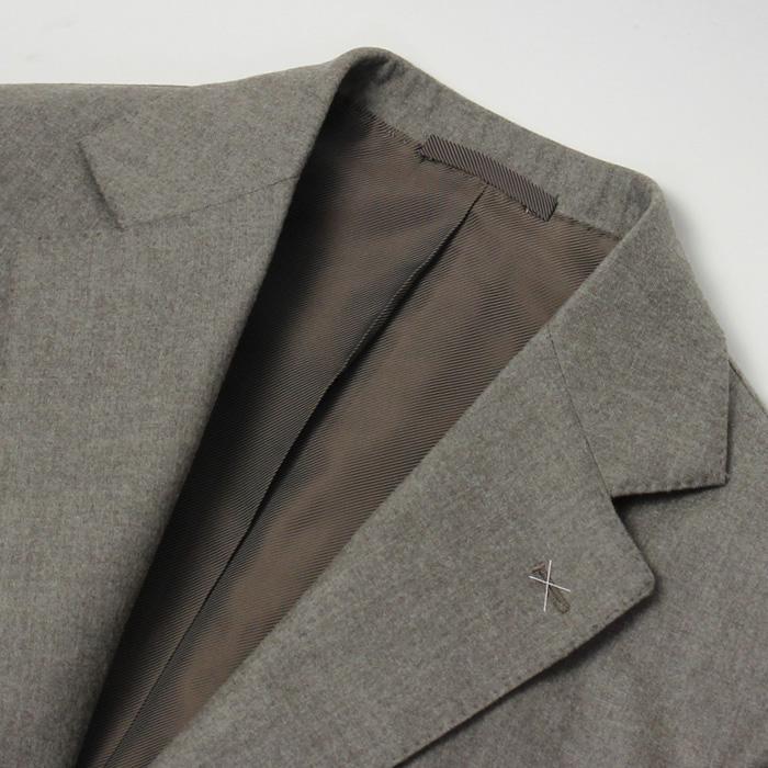 デ ペトリロ / De Petrillo / ワンプリーツ スーツ / ウール セミフラノ 3B 段返り / LINEA NAPOLI / NAPOLI / ABITO / 返品・交換可能|luccicare|08