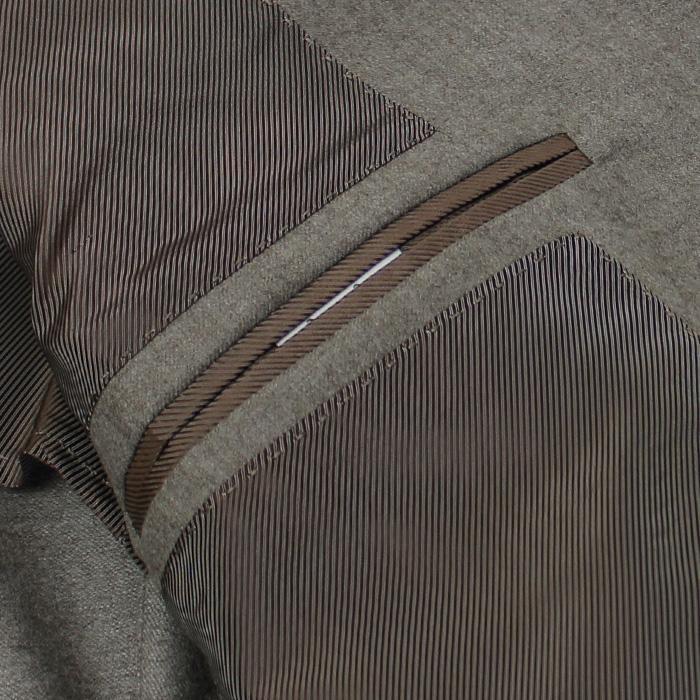 デ ペトリロ / De Petrillo / ワンプリーツ スーツ / ウール セミフラノ 3B 段返り / LINEA NAPOLI / NAPOLI / ABITO / 返品・交換可能|luccicare|10