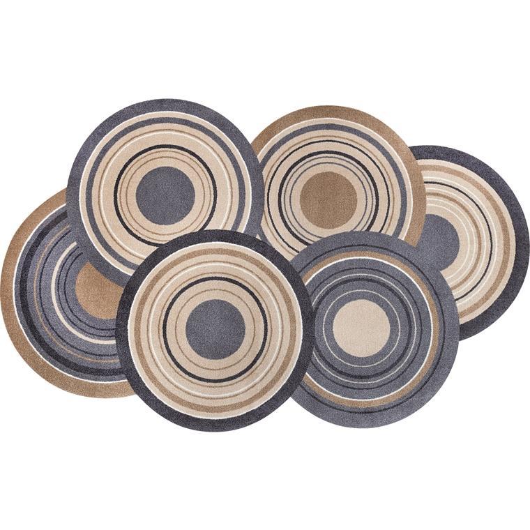 玄関マット ドアマット 大型/ウォッシュ&ドライ/コズミックカラーズネイチャー/110×175cm