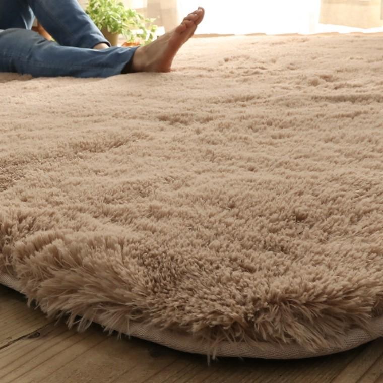 ラグ ラグマット/洗える/130x190cm ロングシャギー /ウレタン入りラグ 極厚/滑り止め 床暖/シフォンプラス/3色|lucentmart-interior|14
