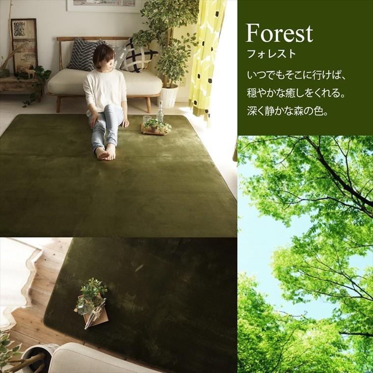 ラグ ラグマット/円形 直径190cm 洗える はっ水 低反発 フランネルラグ 滑り止め 床暖/ホリデープラス/10色|lucentmart-interior|15