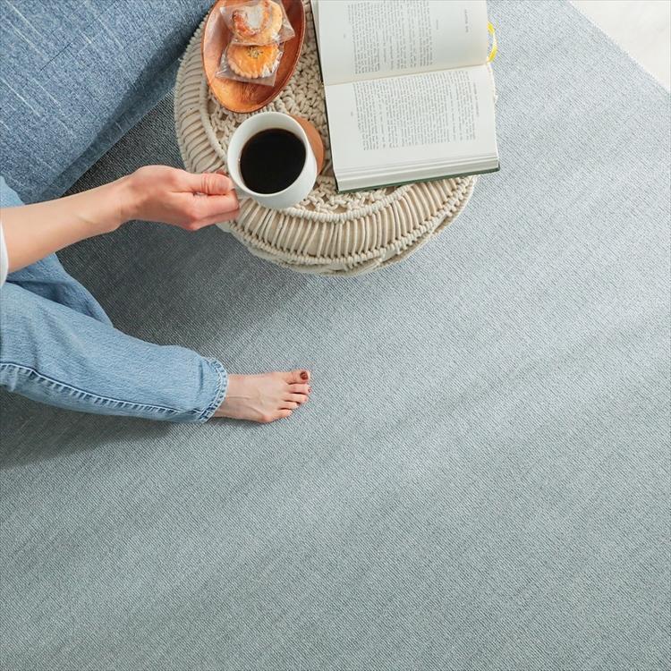 カーペット/261×352cm/江戸間6畳/ご自身でもフリーカット/日本製/抗菌 防臭 床暖/ジャメナ/3色|lucentmart-interior|12