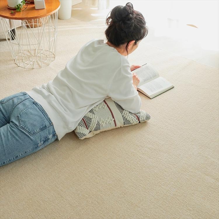 カーペット/261×352cm/江戸間6畳/ご自身でもフリーカット/日本製/抗菌 防臭 床暖/ジャメナ/3色|lucentmart-interior|07