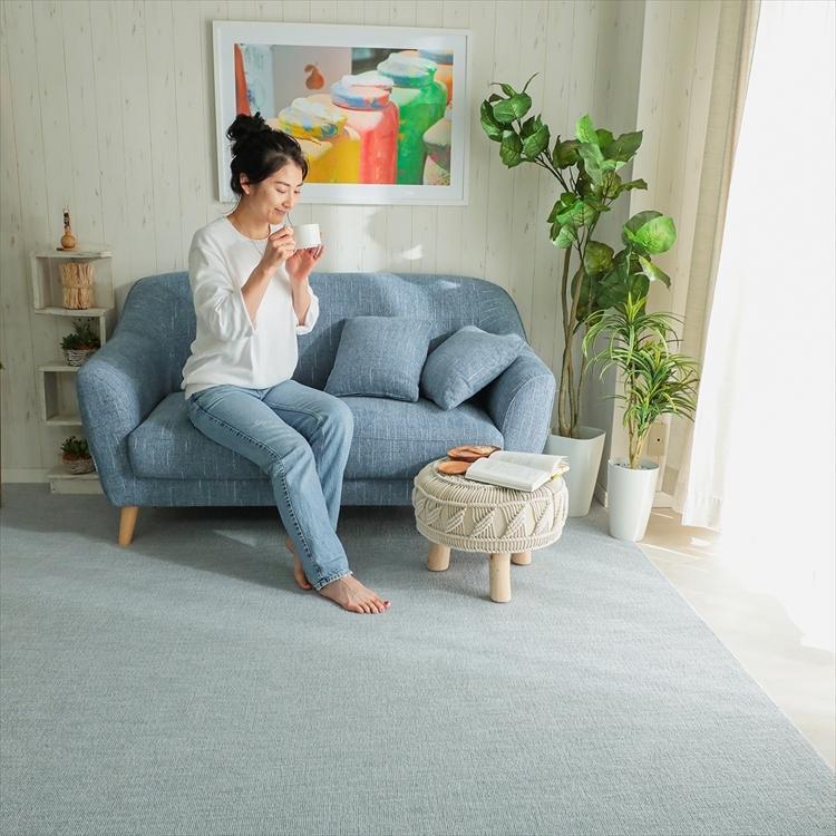 カーペット/261×352cm/江戸間6畳/ご自身でもフリーカット/日本製/抗菌 防臭 床暖/ジャメナ/3色|lucentmart-interior|09