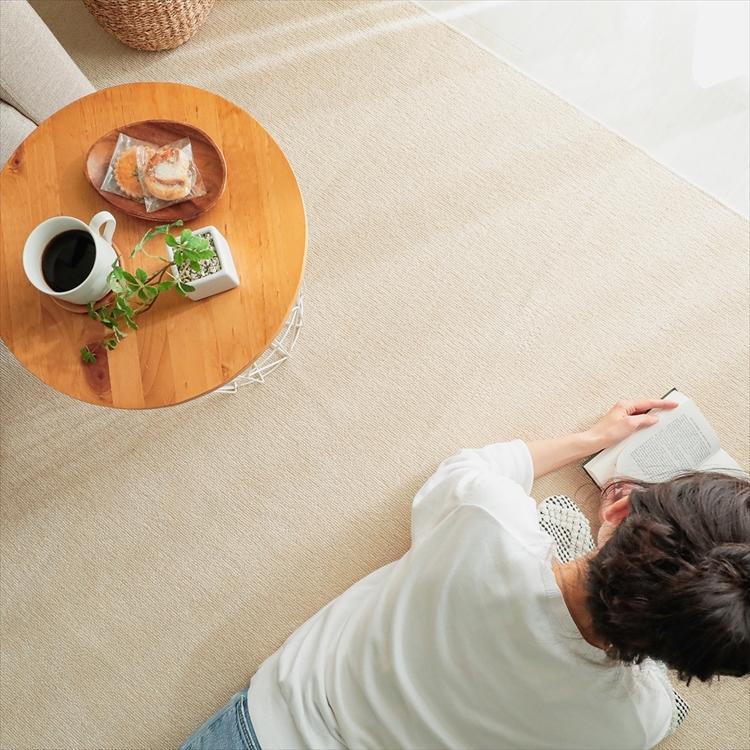 カーペット/261×352cm/江戸間6畳/ご自身でもフリーカット/日本製/抗菌 防臭 床暖/ジャメナ/3色|lucentmart-interior|10
