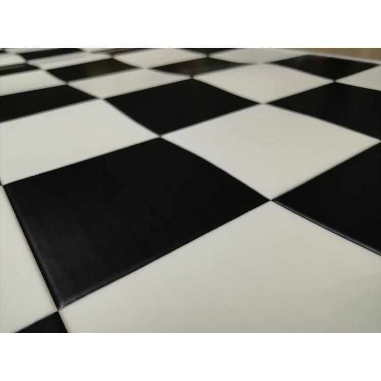 キッチンには拭けるマット/45×120cm/縁付きクッションフロア/チェッカー/日本製/防滑|lucentmart-interior|15