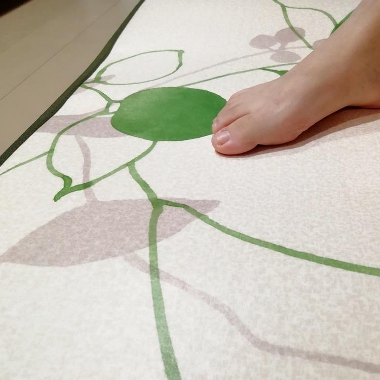 キッチンには拭けるマット/45×270cm/縁付きクッションフロア/リーフ/日本製/防滑|lucentmart-interior|13