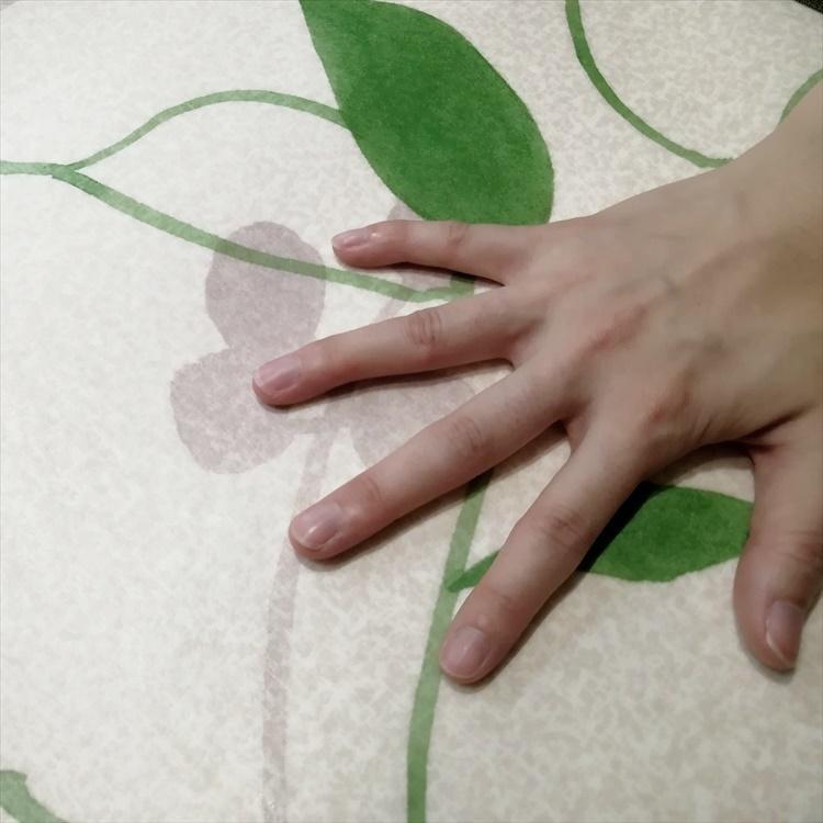 キッチンには拭けるマット/45×270cm/縁付きクッションフロア/リーフ/日本製/防滑|lucentmart-interior|14